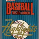 1986 Donruss Highlights baseball card set, 56 cards, Factory sealed, never opened, MINT