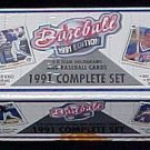 1991 Upper Deck factory baseball card set, 800 cards, Factory sealed, never opened, MINT