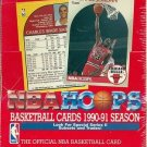 1990-91 1990/91 Hoops basketball card Series 2 wax box, Factory sealed, 36 packs, never opened, MINT
