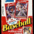 1990 Donruss Baseball card wax box, Factory sealed, 36 packs, never opened, MINT