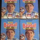 4 - 1988 Donruss Baseball card wax box, 36 packs each, never opened, MINT - FOUR BOXES