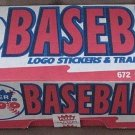 1990 Fleer factory baseball card set, factory sealed, never opened, MINT