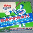 1987 Topps baseball card Cello box, 24 packs, never opened, MINT