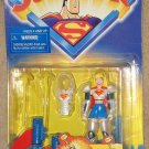 Superman - Supergirl w/ aerial assault armor action figure 1998 Kenner MIP