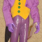 "DC Comics 1990 Presents The JOKER 15"" action figure, cloth clothes, Batman"