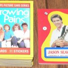 1988 Topps Growing Pains TV show card set, 66 cards & 11 stickers NM/M