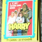 1987 Topps Harry & the Hendersons movie card set, 77 cards NM/M John Lithgow