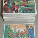 1985 WTW reprint of 1951 Bowman Jets Rockets & Spacemen card set, 108 cards NM/M science fiction