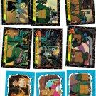 1990 Teenage Mutant Ninja Turtles (TMNT) TV show card set (series 2 II) 88 cards 11 stickers NM/MT
