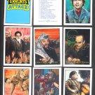 1987 Terrorist Attack card set, 35 cards, NM/M Piedmont Candy, Kadaffi, Hitler, more