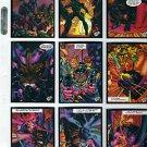 1993 Press Pass Tribe comic card set, 90 cards, NM/M