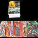 1993 Topps WildCats comic card set, 100 cards, NM/M Jim Lee Image Comics