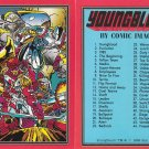 1992 Comic Images Youngblood comic card set, 90 cards, NM/M Rob Liefeld Image Comics