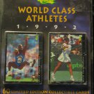 1992 Classic World Class Athletes factory LTD ED set, sealed, never opened, 60 cards