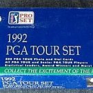 1992 Pro Set PGA Golf Tour factory card set, sealed, never opened, 300 cards NM/M