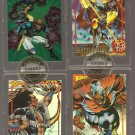 Wizard LTD ED Image comics slabbed numbered cards Supreme, Shaman's Tears, Wildcats Battlezone lot2