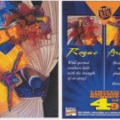 1994 Fleer Ultra X-men Rogue & Archangel Foil insert chase card #4 of 9 NM/M