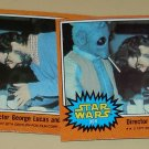 1977 Topps Star Wars movie cards series 5 (orange), 4 cards, EX - MT, Lot #5