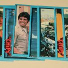 1979 Topps CHiPS cards, # 2, 5, 7, 10, 12, 19, 21, 25, 33, 34, 39, 40, 41, 46, 51, 55, 59 2 stickers
