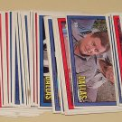 129 1981 Donruss Dallas TV show cards, EX/NM, Larry Hagman Patrick Duffy