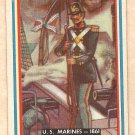 1953 Topps Fighting Marines card #94 (A) - U.S. Marines - 1861 EX/NM