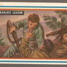 1953 Topps Fighting Marines card #65 Fearless Leader VG