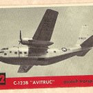 1956 Topps Jets card #42(B) C-123B Avitruc, Assault Transport