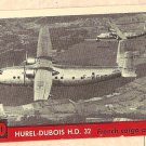1956 Topps Jets card #60 Hurel-Dubois HD 32 French Cargo plane