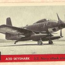 1956 Topps Jets card #43 A2D Skyshark, US Navy Attack Plane