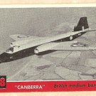 1956 Topps Jets card #48 Canberra, British Medium Bomber