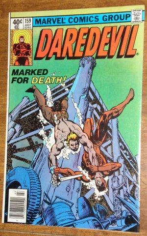 Daredevil #159 (E) comic book, Marvel Comics, VF/NM condition, 2nd Frank Miller