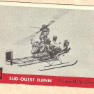 1956 Topps Jets card #154 Sud-Quest Djinn, French Helicopter