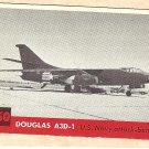 1956 Topps Jets card #150 Douglas A3D-1, US Navy Attacker - Bomber
