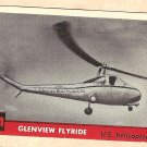 1956 Topps Jets card #184 Glenview Flyride, US Helicopter