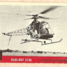 1956 Topps Jets card #113 Sud-Est 3120, French Helicopter