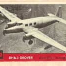 1956 Topps Jets card #120 DHA.3 Drover, Australian Transport