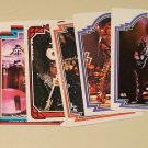 13 different 1978 Donruss Aucoin KISS cards Gene Simmons Peter Criss Paul Stanley Ace Frehley lot#3