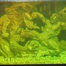 1993 Marvel Universe IV (4) Spider-Man (spiderman) vs Venom hologram chase insert card H-IV, NM/M