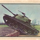 1954 Bowman Power For Peace military card #48 Tank climbs 3 foot wall Good - has light crease