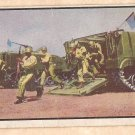 1954 Bowman Power For Peace military card #51 APC armored personnel carrier Good condition