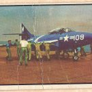 1954 Bowman Power For Peace military card #92 Carrier strike planes Fair condition - creased