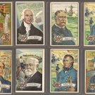 1954 Bowman US United States (U.S.) Presidents card #'s 2, 6, 11, 13, 15, 24, 26