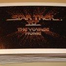 1987 Paramount / FTCC Star Trek IV Voyage Home cards near set 4 cards missing EX/NM William Shatner