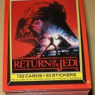 1983 Topps Return of the Jedi Series 1 cards, near set, 6 cards missing, EX/NM Luke Skywalker lot2