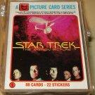 1979 Topps Star Trek Motion Picture near set, 10 cards missing, EX/NM William Shatner