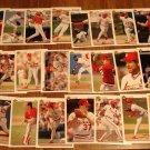 1992 Upper Deck St. Louis Cardinals baseball card team set, NM/M