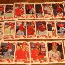 1990 Fleer St. Louis Cardinals baseball card team set, NM/M