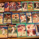 1991 Score St. Louis Cardinals baseball card team set, NM/M
