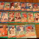1991 Donruss St. Louis Cardinals baseball card team set, NM/M