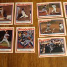 1988 Fleer World Series baseball 12 card set, NM/M, Los Angeles Dodgers, Oakland A's Mark McGwire